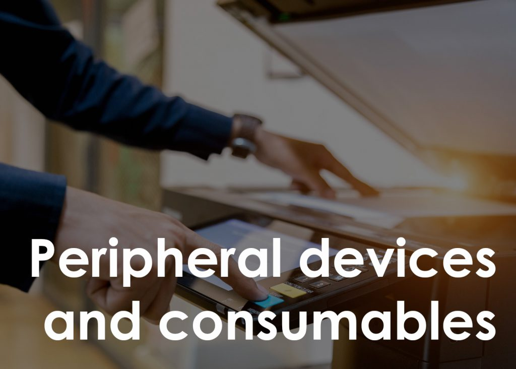 Peripheral devices and consumables